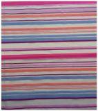 Ткань полиэфира Organza, цветастые нашивки