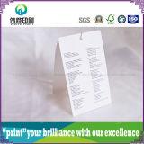 Étiquette de papier de petite taille de coup d'impression (2 en 1)