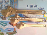 Non Sparkinig usine la clé réglable de laiton de clé d'en cuivre de clé de sûreté