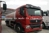 Caminhão de tanque do petróleo pesado do caminhão de tanque 28m3 do petróleo de HOWO T5g