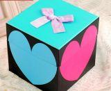 Venta al por mayor de papel rígida del rectángulo de regalo de la disposición de dos piezas