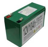 Batería recargable del comienzo de 12V10ah LiFePO4 con la alta corriente derivada
