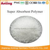 Polímero absorvente super da seiva para o tecido do bebê