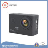 Câmera cheia ultra HD 4k HD 1080 2inch LCD da agitação do giroscópio a anti da função Waterproof a câmara de vídeo do esporte de 30m