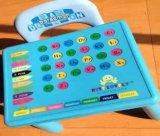 Tabela do estudo da mobília dos miúdos e jogo plásticos da cadeira