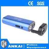 Selbstverteidigung USB, der nachladbar ist, betäuben die blauen Taschenlampen-Funktionen der Gewehr-LED