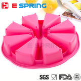 DIY Silicone 8 Triangle Cavity Scottish Scone Silicon Baking Pan Cake Mold