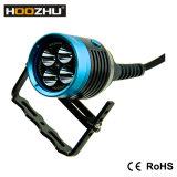 Hoozhu Hu33 크리 사람 LED 잠수 빛 4X 크리 말 Xm-L2 LED