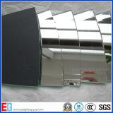 vidrio decorativo del espejo de 4-12m m