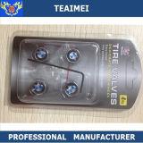Manufaturing Car Logo Auto Parte Válvula de pneu de carro com anti-roubo