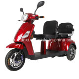 Le ce a reconnu le scooter électrique de trois roues avec deux portées