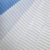 5mm 줄무늬 98%Polyester 2%Conductive 섬유 ESD 직물