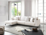 Qualitäts-stellte weiches Gewebe-Chesterfield-Sofa für Wohnzimmer ein (FS-026)
