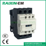 Novo tipo contator 3p AC-3 380V 11kw de Raixin da C.A. de Cjx2-N25