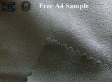Tessuto 100% di tessile della casa della pelle scamosciata del filo di ordito del poliestere