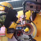 Montaggio del tubo che convoglia la saldatrice automatica della flangia del saldatore di TIG