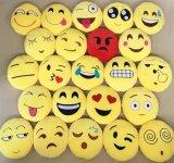 Cuscino di Emoji di sorriso dei giocattoli farcito cuscino di Emoji della peluche