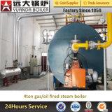 Изготовления боилера газа пара Wns высокой эффективности