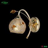 Eisen-Wand-Licht mit Kristall