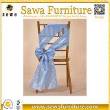 Schwarze Taft-Windung-Stuhl-Schärpe für Hochzeit