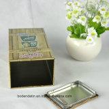 Rectangular de metal Banco de encargo Unbroken de monedas con diseños personalizados, caja de dinero, la caja de ahorros
