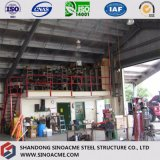 Gruppo di lavoro d'acciaio prefabbricato della costruzione con il baldacchino