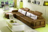 Modern Living room Room Corner Leather Sofa for Home (UL-NS265)