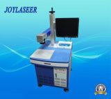 Máquina de la marca del laser de la fibra para los materiales transparentes/metal