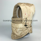 Cappello impermeabile della mascherina di pattino della balaclava di Camo del cappello del pattino di inverno