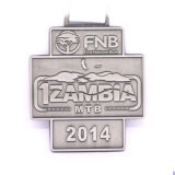 medaglia corrente di maratona antica di rame di stile 3D