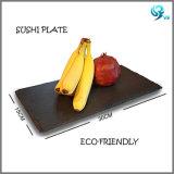 Material Eco-Friendly por atacado placa preta natural oleada da ardósia