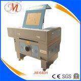 cortador do laser da cabeça da área de trabalho de 600*400mm único (JM-640H)