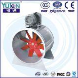 Déflecteur d'écoulement axial de commande par courroie de Yuton