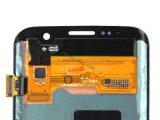 Pantalla de Icd de los recambios del teléfono móvil para Samsung S7 Edge+