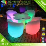 Mobília do jardim com luz do diodo emissor de luz de 5050 RGB