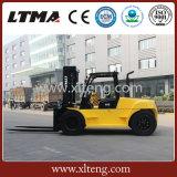 무거운 유형 트럭 최고 가격을%s 가진 10 톤 디젤 엔진 포크리프트
