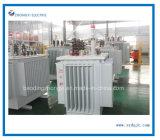 transformador descender del alto voltaje 33kv de la distribución inmersa en aceite 30-3150kVA