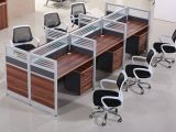 Forniture di ufficio moderne della stazione di lavoro di Partiton delle 2 sedi (HX-NCD385)