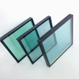 Baixo-e revestimento reflexivo liso do vidro Tempered para a parede de cortina