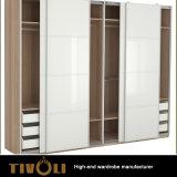 寝室のワードローブは引出しが付いている戸棚を挿入し、Tivo-0063hwに棚に置く
