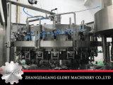El agua de soda carbonatada bebe la máquina de rellenar
