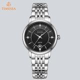 Nuevo reloj 71178 de las señoras del acero inoxidable del diamante de la manera