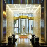 201 nam het Gouden Super Decoratieve Blad van het Roestvrij staal met Spiegel eindigen toe