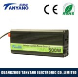 Inversor modificado 500W de la onda de seno de la Directo-Venta 12V 110V/220V de la fábrica con la UPS