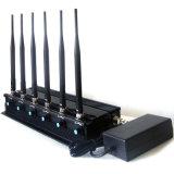Krachtige Regelbare WiFi 3G 4G Al Blocker van het Signaal Cellphone met 6 Antennes