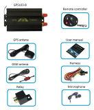 10 van de Vrije GPS van de Verkoop Tk103A van Coban van het Platform van het Web Volgende Hete houdt de jaar Drijver van het Voertuig met ver Motor tegen
