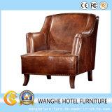 Bester verkaufenitalien-moderner echtes Leder-Sofa-Freizeit-Stuhl