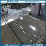 La seguridad 2016 de la construcción de edificios de China cubrió el vidrio curvado vidrio inferior de plata doble de E nuevo