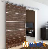 木のドアアルミニウムWindowsの車輪のためのアルミニウム物質的な納屋の引き戸のハードウェアの家具の付属品のハードウェア