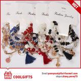 De hete Verkopende Kleurrijke Dames van de Manier van Juwelen parelt de Reeks van de Armband